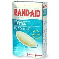 Band-Aid Brand Adhesive Bandages, Advanced Healing Blister Cushions, Multi-Day Protection, 6-Count Boxes