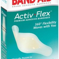 Band-aid Brand Adhesive Bandages Activ-Flex Regular, 10 Count Box
