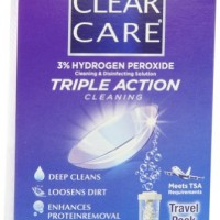 Clear Care Cleaning & Disinfection Solution-3 Ounce ,travel Pack, 3 Fluid Ounce