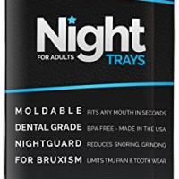 DentaHD Night Trays For Adults – Professional, BPA Free Night Guards for Bruxism