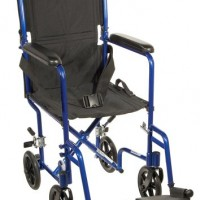 Drive Medical Aluminum Transport Chair, 19″
