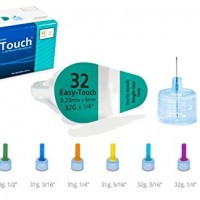 Easy Touch Pen Needles 32 Gauge, 1/4 Inches