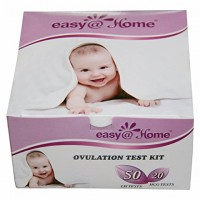 Easy@Home branded 50 Ovulation (LH) and 20 Pregnancy (HCG) Tests Strips Kit – or Choose your own Ovulation (LH) and/or Pregnancy (HCG) Urine Test Strip Combo