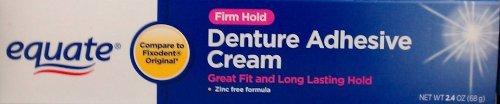 Equate Denture Adhesive Cream TWO-PACK