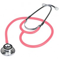 Everdixie USA Dual Head Stethoscope, Pink
