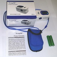 Finger-Pulse-Oximeter-Portable-FDA-Approved-Digital-Blood-Oxygen-and-Pulse-Sensor-Meter-with-Alarm-SPO2-For-Adults-Children-Sports-use-only-TempIR-for-Reliability-and-Excellent-Customer-Care-0-0