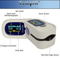 Finger-Pulse-Oximeter-Portable-FDA-Approved-Digital-Blood-Oxygen-and-Pulse-Sensor-Meter-with-Alarm-SPO2-For-Adults-Children-Sports-use-only-TempIR-for-Reliability-and-Excellent-Customer-Care-0-2