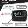 Finger-Pulse-Oximeter-by-Vive-Best-SpO2-Device-for-Blood-Oxygen-Saturation-Level-Reading-Fingertip-Oxygen-Meter-w-Alarm-Pulse-Rate-Monitor-Travel-Case-Lanyard-Included-2-Year-Warranty-0-0