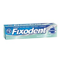 Fixodent Complete MultiCare Denture Cream, Soothing MInt – 2.2 oz