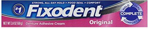 Fixodent Denture Adhesive Cream Original 2.4 oz