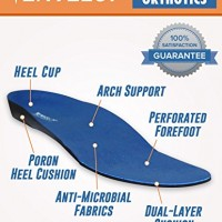 Full-Length-Orthotics-by-Envelop-Plantar-Fasciitis-Insoles-Shoe-Inserts-Provide-Arch-Support-Ankle-Support-Relief-From-Pain-Caused-by-Flat-Feet-Bunions-More-Vive-Guarantee-0-0