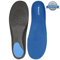 Full Length Orthotics by Envelop – Plantar Fasciitis Insoles – Shoe Inserts Provide Arch Support, Ankle Support & Relief From Pain Caused by Flat Feet, Bunions & More – Vive Guarantee
