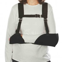 Harris Hemi-Arm Sling, Black, Left