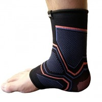 Kunto Fitness Ankle Brace Compression Support Sleeve for Athletics, Injury Recovery, Joint Pain, and More!