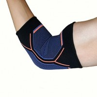 Kunto Fitness Elbow Brace Compression Support Sleeve for Tendonitis, Tennis Elbow, & Golf Elbow Treatment – Reduce Joint Pain During ANY Activity!