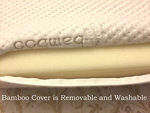 Memory Foam Neck Pillow Double Contour Chiropractor