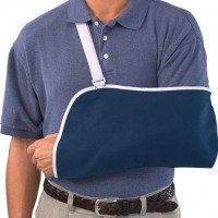 Mueller Arm SlInchg, Blue, One Size