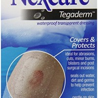 Nexcare Tegaderm Waterproof Transparent Dressing, 2-3/8 Inches X 2-3/4 Inches, 8 Count