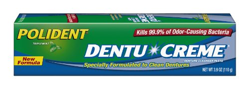 Polident Dentu-Creme, 3.9-Ounce (Pack of 6)