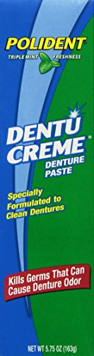 Polident Dentu-Creme, 5.75-Ounce (Pack of 6)