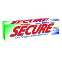 Secure Denture Bonding Cream, 1.4 Ounce — 2 per case.