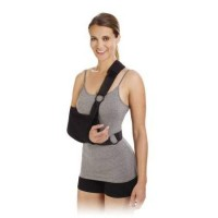 Shoulder Immobilizer Sling Cotton Poly Right/Left, Large 9×18, 1 ea
