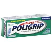 Super PoliGrip Denture Adhesive Cream 0.75 oz (3 pack)