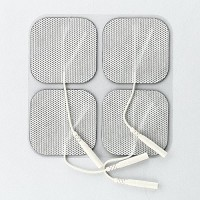 Syrtenty Premium Tens Unit Machine Electrode Pads – Large Small Round Butterfly Electrodes – 100% Satisfaction Guarantee