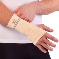 Zensah Compression Wrist Support – Wrist Sleeve for Wrist Pain, Carpal Tunnel – Wrist Support – Wrist Brace