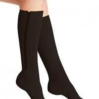 Wellington Orthopedic Women's Moderate High Treatment 30-40 mmHg Medical Compression Stockings, Black, Medium, 6.35 Ounce