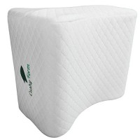 Sciatic-Nerve-Pain-Relief-Knee-Pillow-Best-for-Pregnancy-Leg-Knee-Back-Spine-Alignment-Memory-Foam-Wedge-Leg-Pillow-with-Washable-Cover-0-2