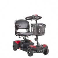 Drive Medical Scout Compact Travel Power Scooter, 4 Wheel