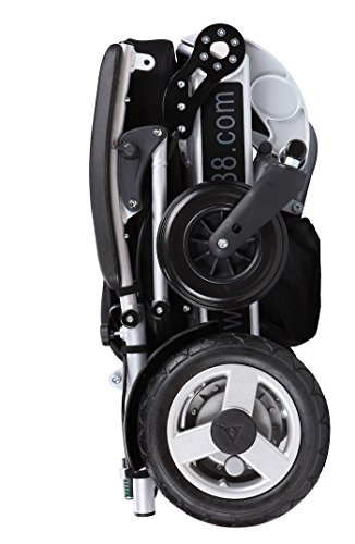 Foldawheel-PW-1000XL-Power-Chair-55-lbs-only-heavy-duty-Supports-330-lbs-Foldable-in-just-2-seconds-Comes-with-a-thick-tuff-travel-bag-Electric-power-motorized-wheelchair-0-2
