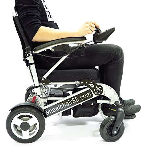 Foldawheel-PW-1000XL-Power-Chair-55-lbs-only-heavy-duty-Supports-330-lbs-Foldable-in-just-2-seconds-Comes-with-a-thick-tuff-travel-bag-Electric-power-motorized-wheelchair-0-3