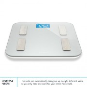 Balance-High-Accuracy-Digital-Body-Fat-Scale-Accurate-Health-Metrics-Body-Fat-and-Weight-Measurements-Glass-Top-with-Large-Backlit-Display-0-4