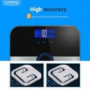 Body-Fat-ScaleLumsing-Smart-Digital-Body-Weight-Monitor-High-Percision-400lbs-Capacity-Measures-Weight-Body-Fat-BMI-Water-Muscle-and-Bone-Mass-Black-0-7