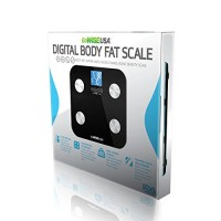 GoWISE-USA-Digital-Body-Fat-Scale-FDA-Approved-Measures-Weight-Body-Fat-Water-Bone-Mass-400-lbs-Capacity-Tempered-Glass-0-5
