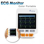 Heal-Force-180D-Color-Portable-ECG-Monitor-With-ECG-lead-cables-And-50pcs-ECG-electrodes-0-0