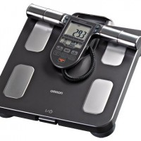 Omron Body Composition Monitor with Scale – 7 Fitness Indicators & 90-Day Memory