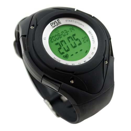 Pyle-Sports-Heart-Rate-Monitor-Watch-with-Minimum-Average-Heart-Rate-Calories-Target-Zones-0