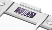 VonHaus-Body-Fat-Scale-BMI-Weight-Scale-with-Body-Composition-Analyser-Hydration-Monitor-400lb-Weight-Capacity-SilverGlass-Bathroom-Weight-Scales-0-0