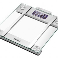 VonHaus-Body-Fat-Scale-BMI-Weight-Scale-with-Body-Composition-Analyser-Hydration-Monitor-400lb-Weight-Capacity-SilverGlass-Bathroom-Weight-Scales-0-4