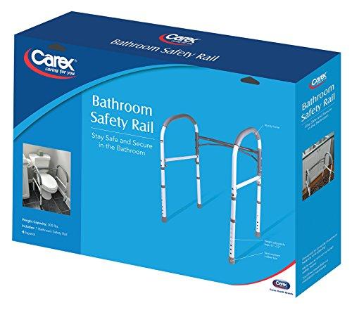 Carex Health Brands Bathroom Safety Rail 0 3